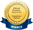 Ethical Breeder Award Winner